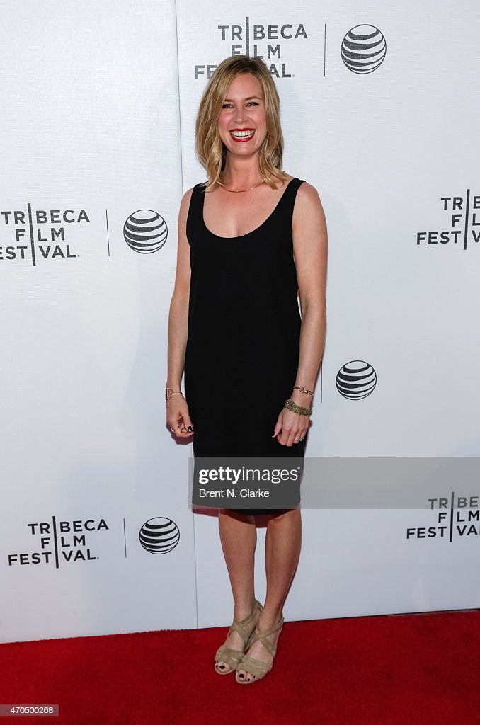 Actress Mary Grill arrives for the World Premiere Narrative: 'Slow Learners' during the 2015 Tribeca Film Festival held at Regal Battery Park 11 on April 20, 2015 in New York City.