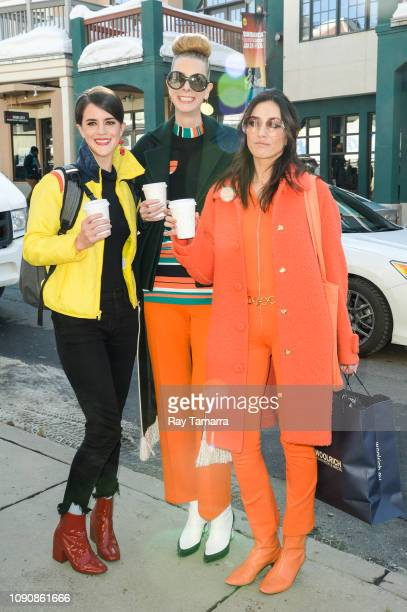 Actress Mary Holland Dawn Luebbe and Jocelyn DeBoer attends the 2019 Sundance Film Festival on January 28 2019 in Park City Utah