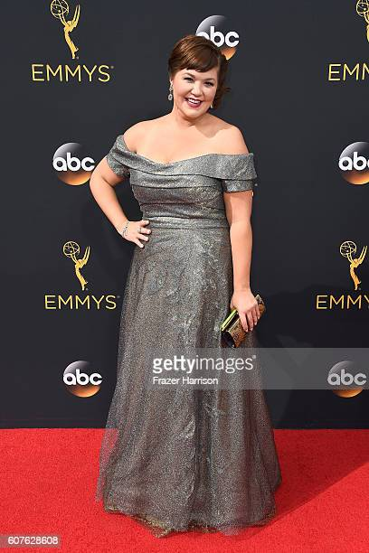 Actress Mary Hollis Inboden attends the 68th Annual Primetime Emmy Awards at Microsoft Theater on September 18 2016 in Los Angeles California
