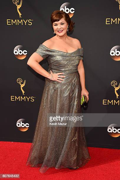 Actress Mary Hollis Inboden attends the 68th Annual Primetime Emmy Awards at Microsoft Theater on September 18, 2016 in Los Angeles, California.