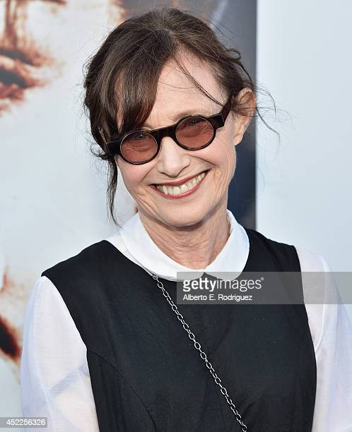 Actress Mary Jo Deshanel arrives to The American Film Institute Presents Twin PeaksThe Entire Mystery BluRay/DVD Release Screening at the Vista...
