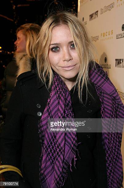 Actress Mary Kate Olsen attends the 2008 Sundance Film In Bruges presented by Focus Features Presents at Village at the Lift on January 17 2008 in...
