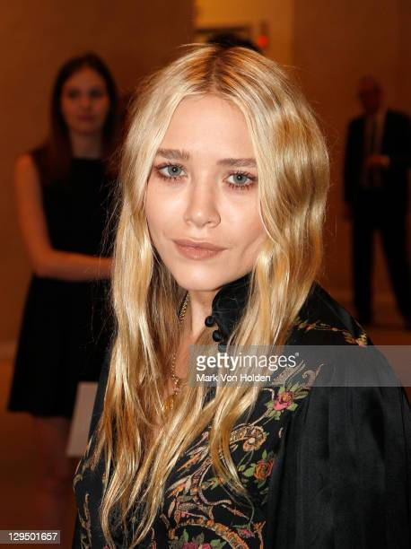 Actress Mary Kate Olsen attends The New York Academy of Art's 20th Annual Take Home a Nude benefit at Sotheby's on October 17 2011 in New York City