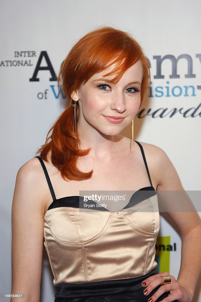 Actress Mary Kate Wiles arrives at the IAWTV Awards at the CES 2013 Show at the Palazzo Theater at the Palazzo Resort Hotel/Casino on January 8, 2013 in Las Vegas, Nevada.