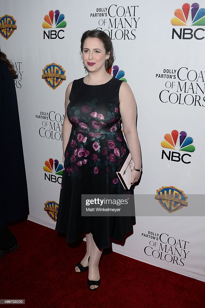 Actress Mary Lane Haskell arrives at the premiere of Warner Bros. Television's 'Dolly Parton's Coat of Many Colors' at the Egyptian Theatre on December 2, 2015 in Hollywood, California.