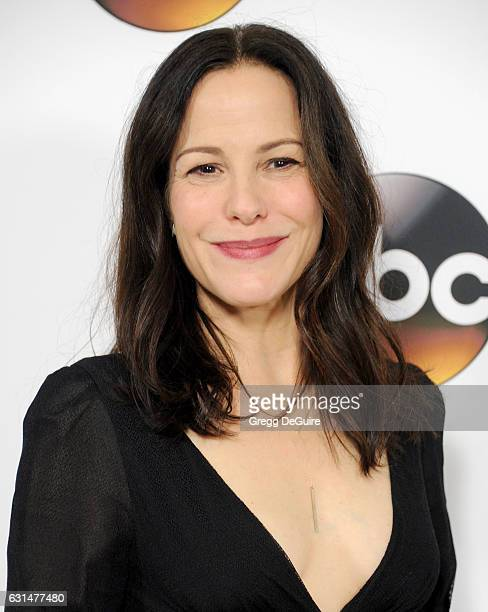 Actress Mary Louise Parker arrives at the 2017 Winter TCA Tour Disney/ABC at the Langham Hotel on January 10 2017 in Pasadena California