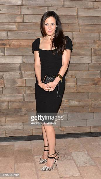Actress Mary Louise Parker attends The Cinema Society and Bally screening of Summit Entertainment's Red 2 after party at Refinery Hotel on July 16...