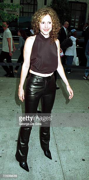 Actress Mary Louise Parker attends the premiere of 'Almost Famous' at the Chelsea West Theatre September 11 2000 in New York City