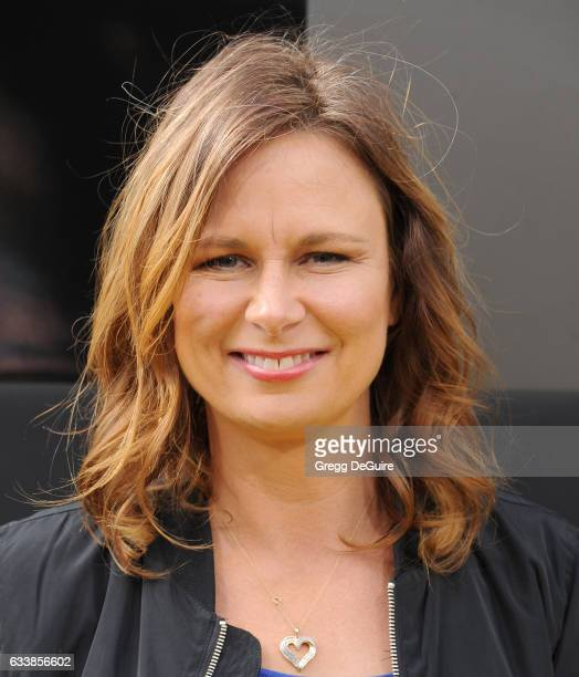 Actress Mary Lynn Rajskub arrives at the premiere of Warner Bros Pictures' 'The LEGO Batman Movie' at Regency Village Theatre on February 4 2017 in...