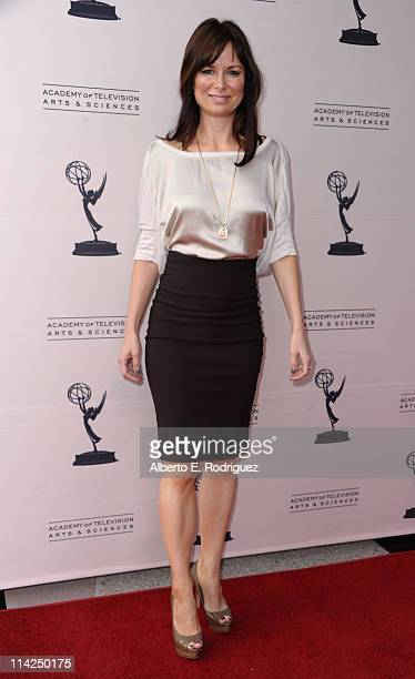 Actress Mary Lynn Rajskub arrives to the Academy of Television Arts Sciences presents A Conversation With Ladies Who Make Us Laugh on May 16 2011 in...