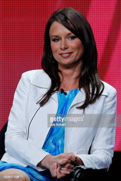 Actress Mary Lynn Rajskub attends the 2011 CBS Summer Press Tour Day Sessions at The Beverly Hilton hotel on August 3 2011 in Beverly Hills California