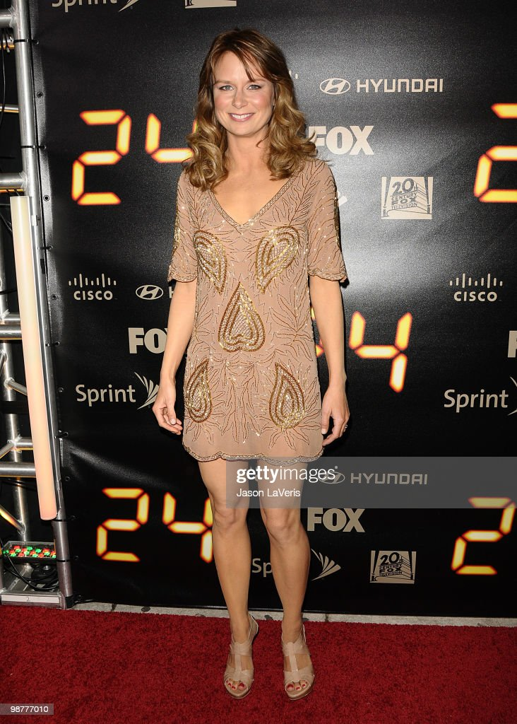 Actress Mary Lynn Rajskub attends the '24' series finale party at Boulevard3 on April 30, 2010 in Hollywood, California.
