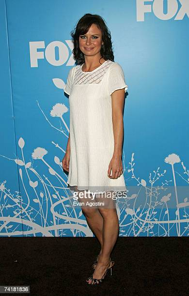 Actress Mary Lynn Rajskub attends the FOX 2007 Programming presentation at the Wollman Rink in Central Park on May 17 2007 in New York City