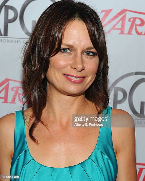 Actress Mary Lynn Rajskub attends The Producers Guild of America's Digital 25 2011 Leaders in Emerging Entertainment in association with Variety...