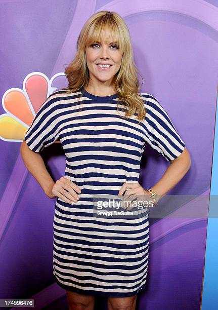 Actress Mary McCormack arrives at the 2013 NBC Television Critics Association's Summer Press Tour at The Beverly Hilton Hotel on July 27 2013 in...