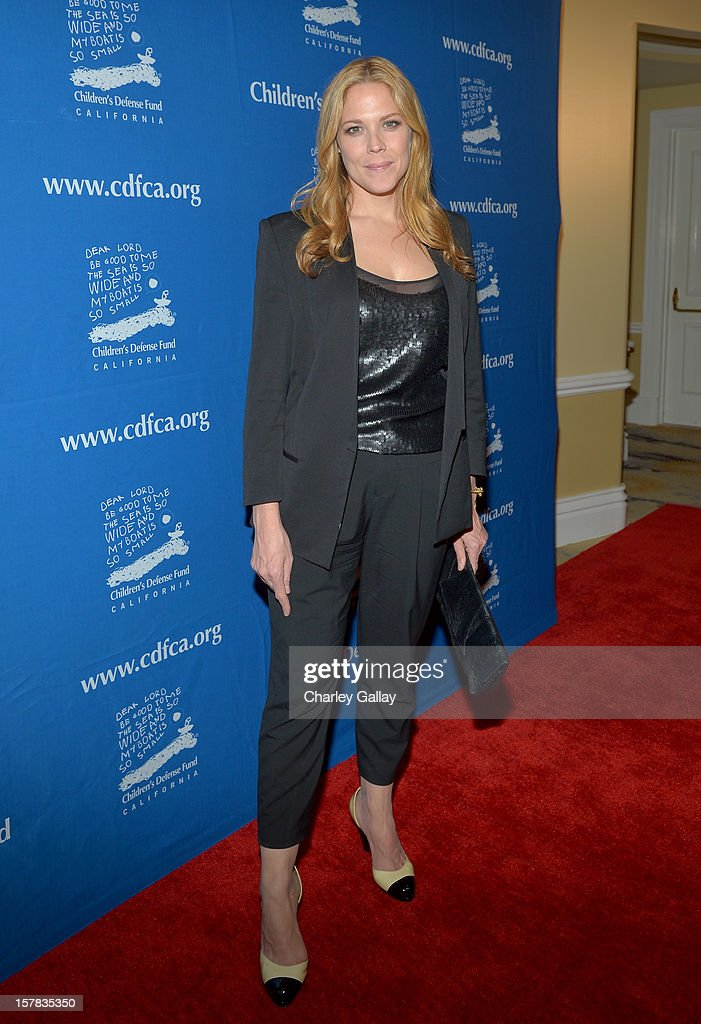 Actress Mary McCormack arrives at the Children's Defense Fund of California 22nd Annual Beat The Odds Awards at Beverly Hills Hotel on December 6, 2012 in Beverly Hills, California.