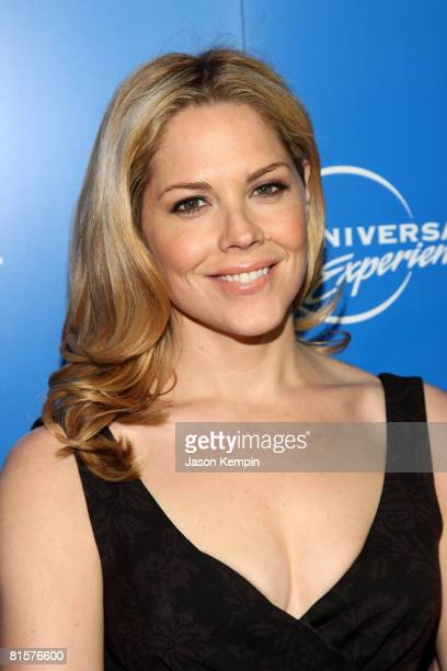 Actress Mary McCormack attends the NBC Universal Experience at Rockefeller Center on May 12 2008 in New York City