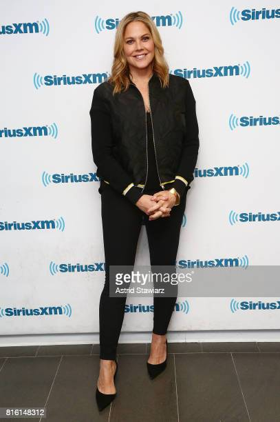 Actress Mary McCormack visits the SiriusXM Studios on July 17 2017 in New York City
