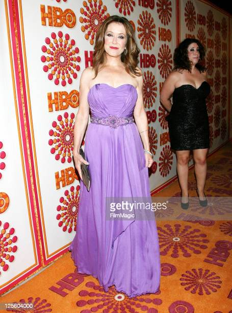 Actress Mary McDonnell attends HBO's Official Emmy After Party at The Plaza at the Pacific Design Center on September 18 2011 in Los Angeles...