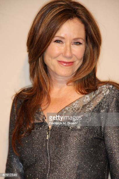 Actress Mary McDonnell attends the Academy of Television Arts Sciences and the Writers Peer Group Emmy nominee party for outstanding writing at the...