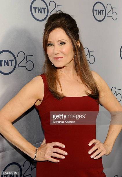 Actress Mary McDonnell attends TNT 25TH Anniversary Party during Turner Broadcasting's 2013 TCA Summer Tour at The Beverly Hilton Hotel on July 24...