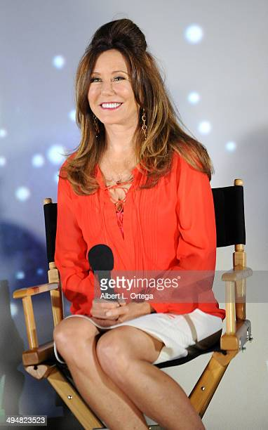 Actress Mary McDonnell participates in the 5th Annual Hero Complex Film Festival 'Battlestar Galactica' Screening and QA held at the TCL Chinese...