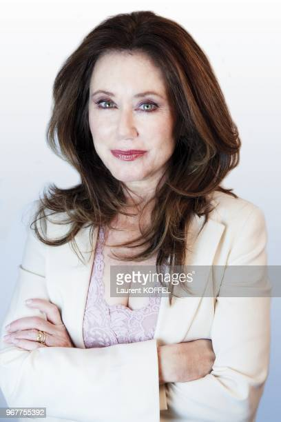 Actress Mary McDonnell pictured in Paris in France on April 24 2009 Major Crimes The Closer Battlestar Galactica Jimmy Nolan Scream 4 Donnie Darko...