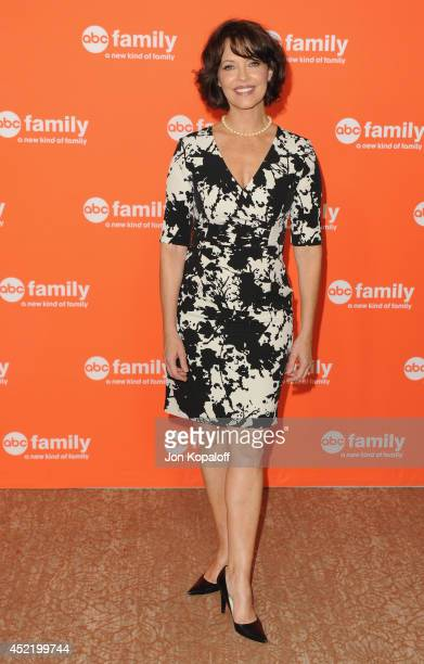 Actress Mary Page Keller arrives the Disney|ABC Television Group 2014 Television Critics Association Summer Press Tour at The Beverly Hilton Hotel on...