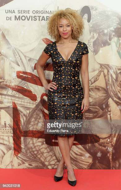 Actress Mary Ruiz attends the 'Felix' premiere at Callao cinema on April 4 2018 in Madrid Spain