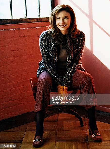 Actress Mary Steenburgen is photographed for More Magazine on February 23 2005 in New York City