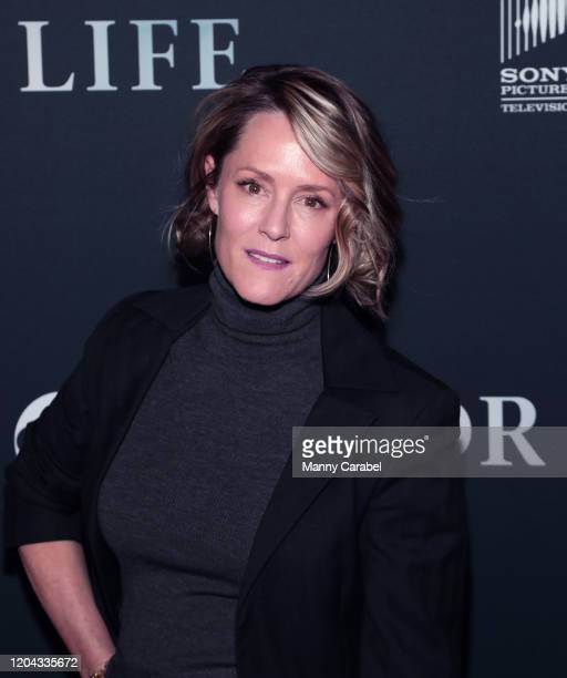 Actress Mary Stuart Masterson attends ABC's For Life New York premiere at Alice Tully Hall Lincoln Center on February 05 2020 in New York City