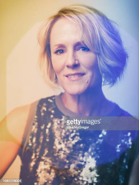Actress Mary Stuart Masterson poses for a portrait at Hudson Valley Votes on October 20 2018 in Kingston New York