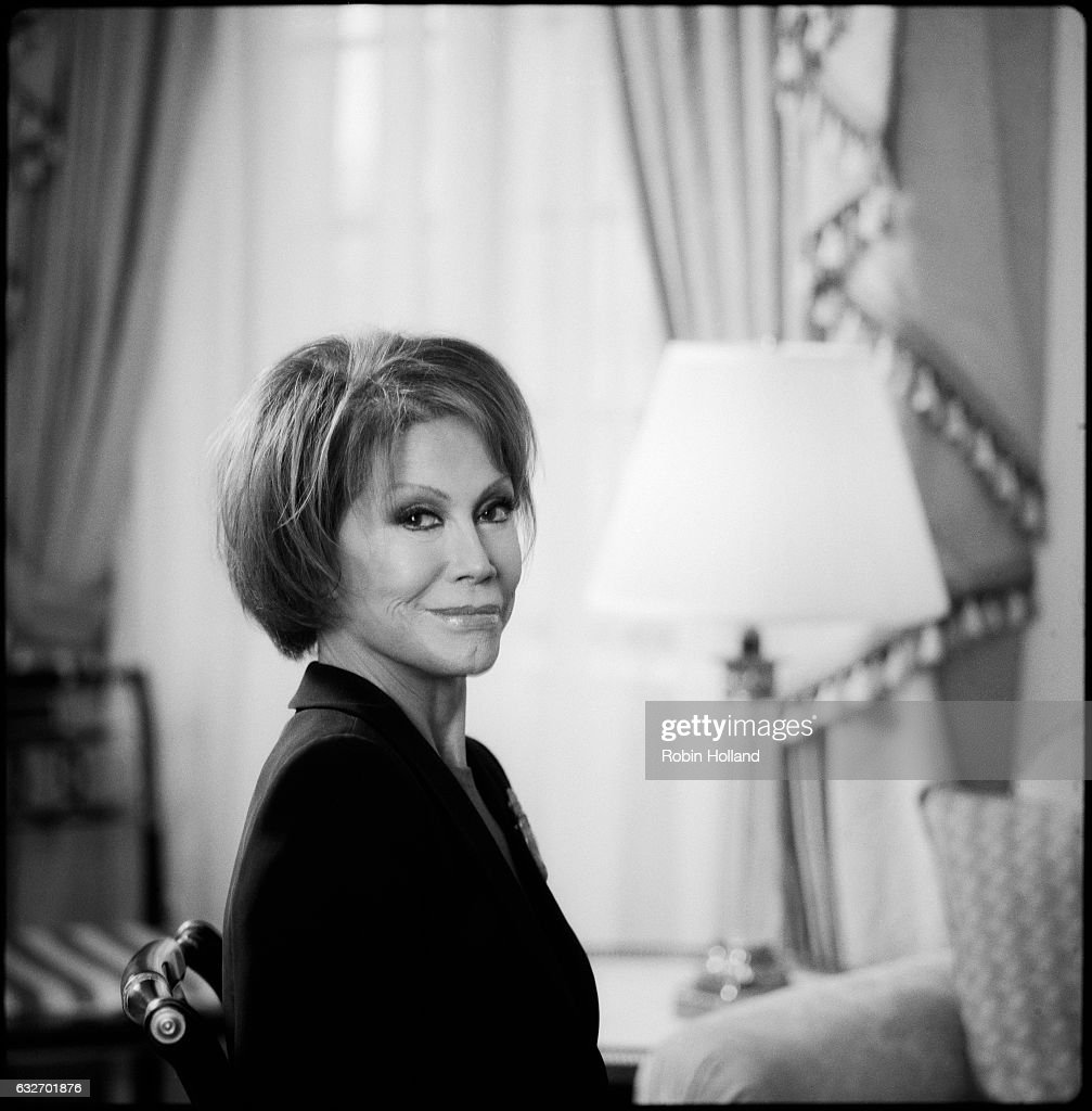 Actress Mary Tyler Moore is photographed on January 19, 2006, in New York City.
