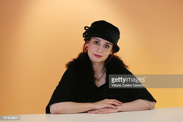 Actress Maryam Moqadam attends the 'Closed Curtain' Portrait Session during the 63rd Berlinale International Film Festival at the Berlinale Palast on...