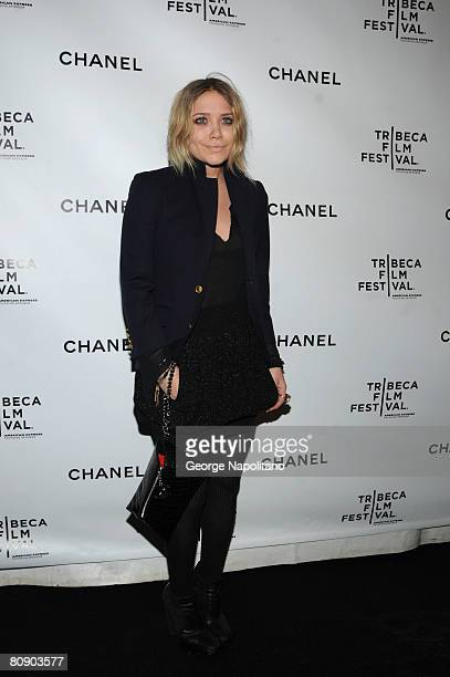 Actress MaryKate Olsen attends the 3rd Annual Chanel Dinner Party on April 28 2008 at AGO at the Greenwich Hotel in New York City