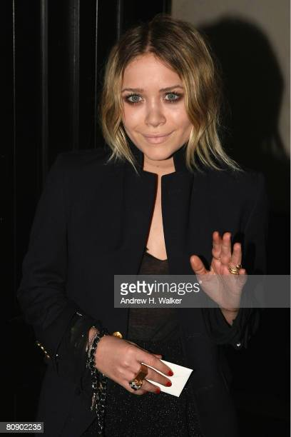Actress MaryKate Olsen attends the Chanel Dinner held at the Greenwich Hotel during the 2008 Tribeca Film Festival on April 28 2008 in New York City