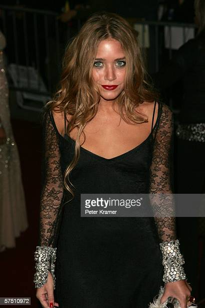 Actress MaryKate Olsen attends the Metropolitan Museum of Art Costume Institute Benefit Gala Anglomania at the Metropolitan Museum of Art May 1 2006...
