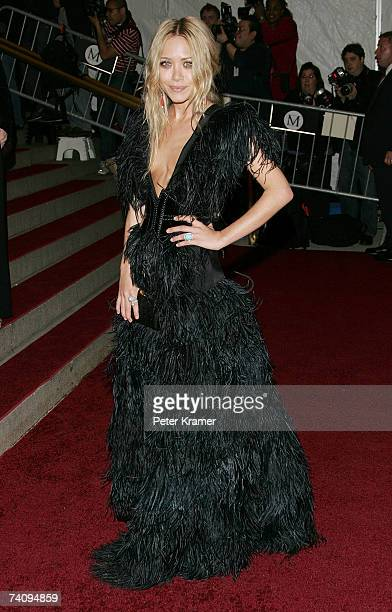 Actress MaryKate Olsen attends the Metropolitan Museum of Art Costume Institute Benefit Gala 'Poiret King Of Fashion' at the Metropolitan Museum of...