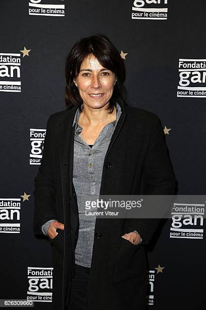 Actress Maryline Canto attends 'Fondation GAN pour le Cinema' Award Ceremony at Cinematheque Francaise on November 28 2016 in Paris France