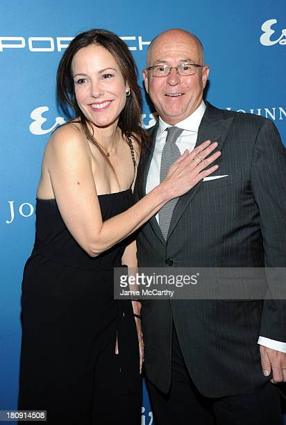 Actress MaryLouise Parker and Esquire EditorinChief David Granger attend the Esquire 80th anniversary and Esquire Network launch celebration at...