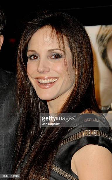 Actress MaryLouise Parker arrives at the Los Angeles premiere PS I Love You at Grauman's Chinese Theater on December 9 2007 in Hollywood California