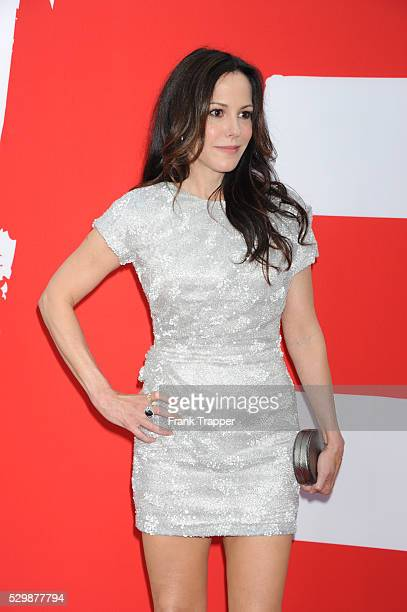 Actress Mary-Louise Parker arrives at the premiere of Red 2 held at the Village Theater in Westwood.