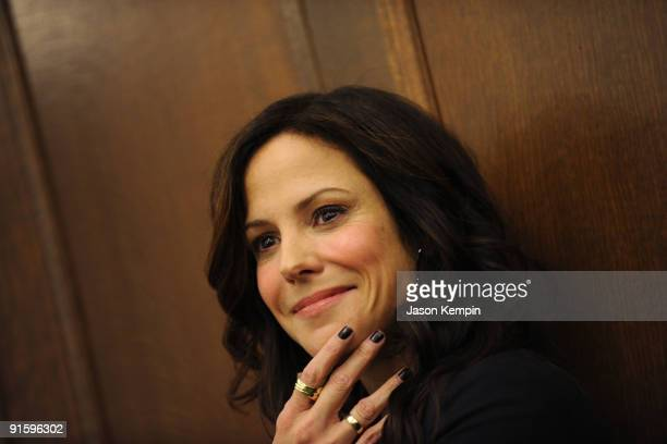 Actress MaryLouise Parker attends Jumpstart's Read for the Record at The New York Public Library on October 8 2009 in New York City
