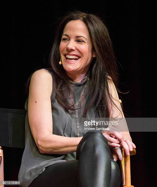 Actress Mary-Louise Parker attends Live Talks L.A. Presents: An Evening With Mary-Louise Parker at Moss Theatre at New Roads School on December 15,...