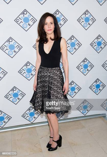 Actress MaryLouise Parker attends the 2017 Room To Grow Spring Benefit at Guastavino's on April 5 2017 in New York City