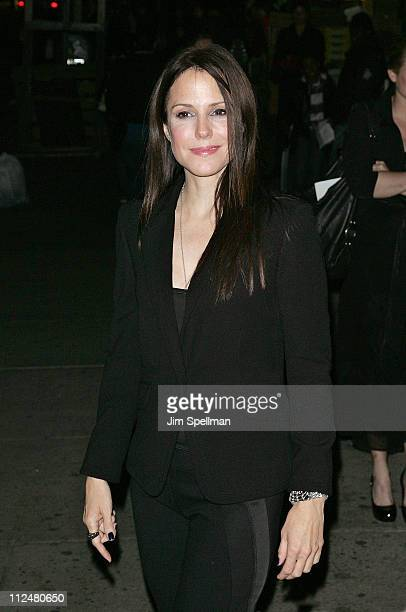Actress MaryLouise Parker attends the 5th Annual Worldwide Orphans Foundation Benefit Gala at Capitale on October 26 2009 in New York City