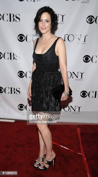 Actress MaryLouise Parker attends the 62nd Annual Tony Awards at Radio City Music Hall on June 15 2008 in New York City