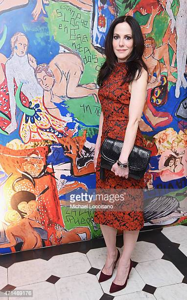 Actress MaryLouise Parker attends the alice olivia by Stacey Bendet and the CFDA celebration of the alice olivia and Domingo Zapata collaboration on...