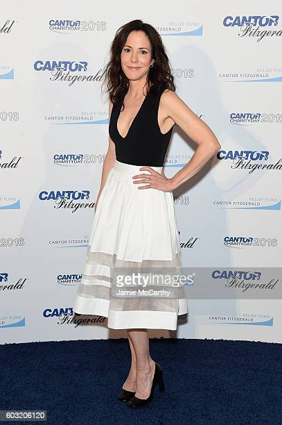 Actress MaryLouise Parker attends the Annual Charity Day hosted by Cantor Fitzgerald BGC and GFI at Cantor Fitzgerald on September 12 2016 in New...