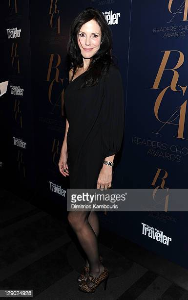 Actress MaryLouise Parker attends the Conde Nast Traveler Readers' Choice Awards at The Edison Ballroom on October 10 2011 in New York City